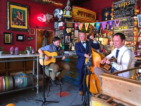 Jonny Hepbir Gypsy Jazz Trio Release New Video 'Django's Tiger' On Popular Youtube Channel