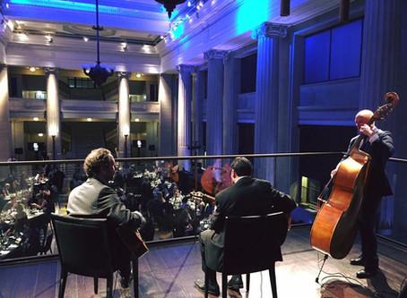 Jonny Hepbir Gypsy Jazz Trio And Quartet Play A Dazzling Award Ceremony At Banking Hall In London