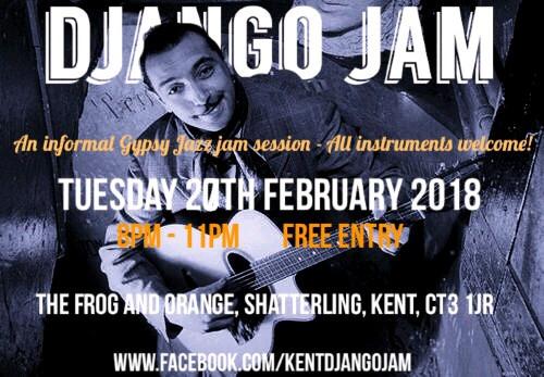 Kent Django Jam Near Canterbury