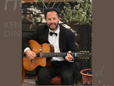 Book A Solo Gypsy Jazz Guitarist In Kent | Jonny Hepbir Live On New Year's Eve In Sandwich Kent