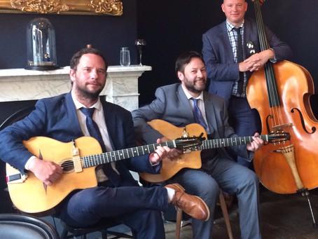 Hire A Band In Kent | Jonny Hepbir Gypsy Jazz Trio