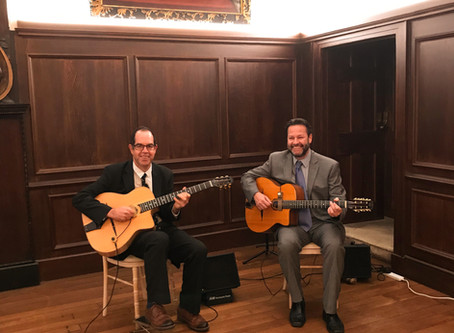 London Gypsy Jazz Band Hire | Jonny Hepbir Guitar Duo At Fulham Palace Wedding