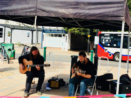 Swing Jazz Guitar In Kent & Surrey | Hire Jonny Hepbir Solo Or Duo For A Socially Distanced Event