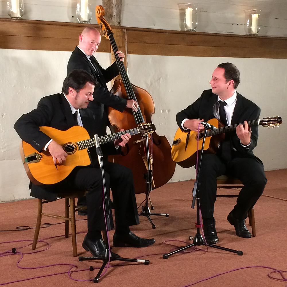 Jonny Hepbir Trio Gypsy Jazz Trio