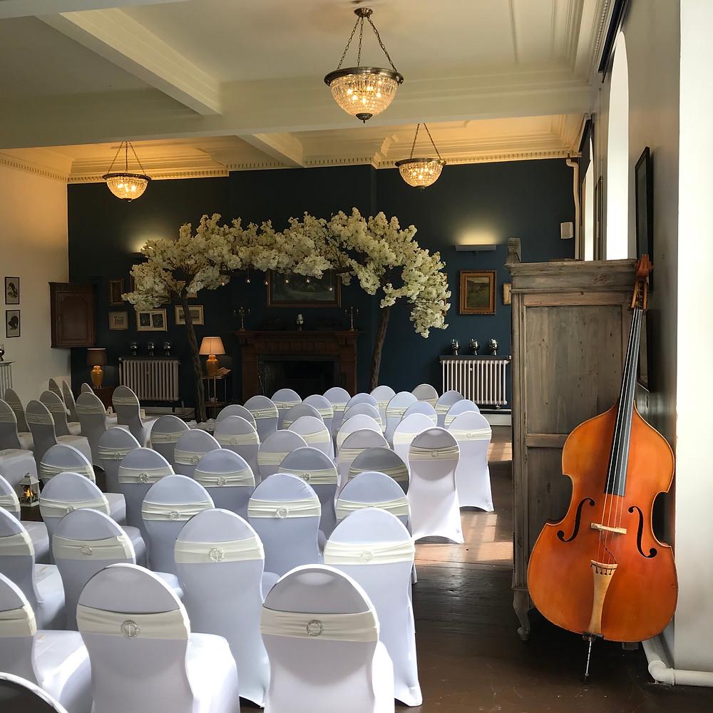 Jonny Hepbir Gypsy Jazz Quartet At A Wedding In Knutsford Cheshire
