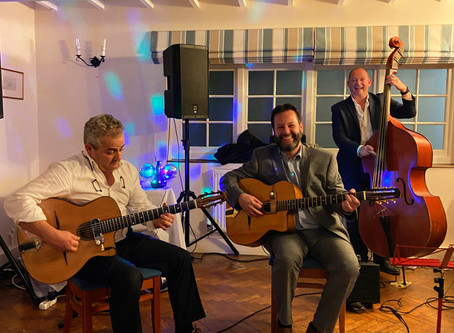 Itchenor Sailing Club Wedding Near Chichester | Jonny Hepbir Jazz Trio