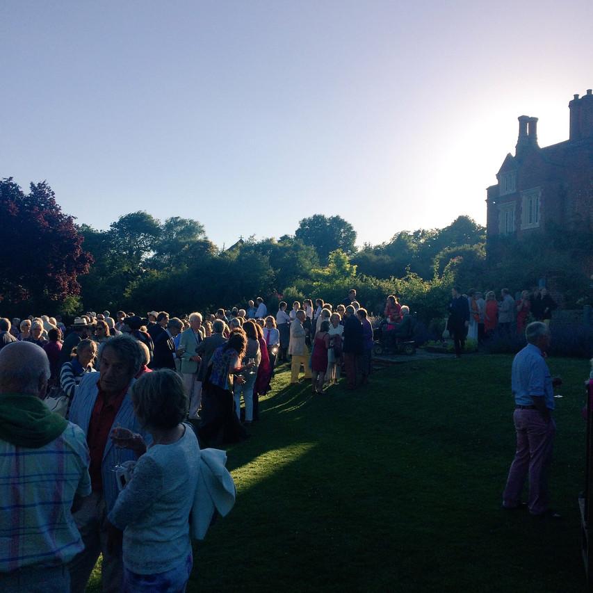 Jonny Hepbir Parisian Swing Quintet At Childerley Hall Celebration In Cambridgeshire