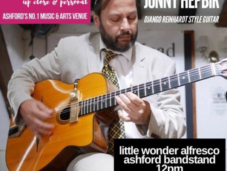 Gypsy Jazz Guitar For Revelation Ashford 11th September | Hire Jonny Hepbir For An Event In Kent