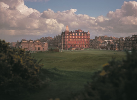 My First Visit to St Andrews