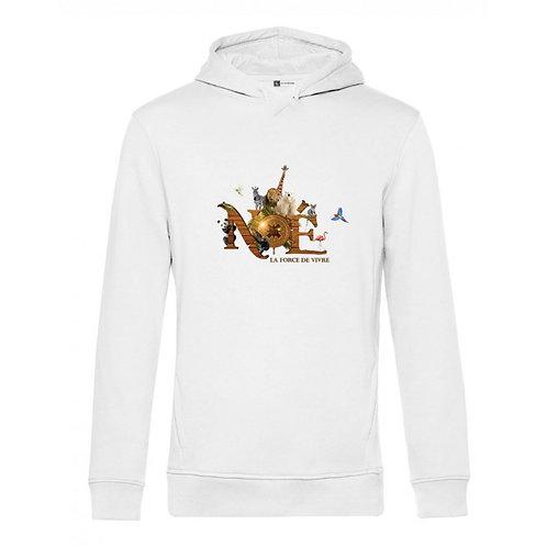 Sweater Capuche Noé en coton Organique