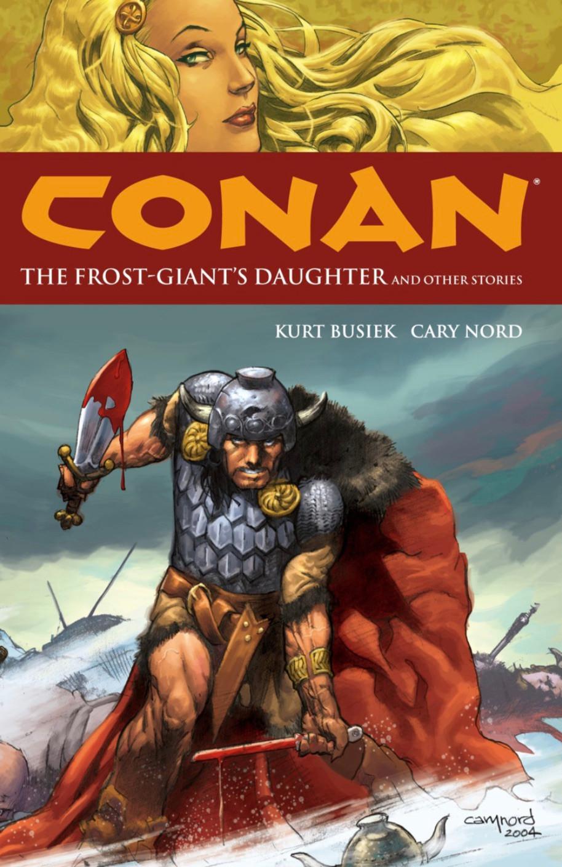 Conan, Vol. 1 (tpb), cover, Dark Horse, Busiek/Nord