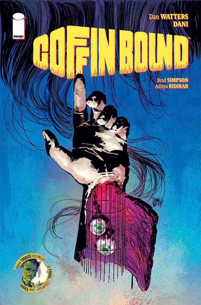 Coffin Bound #3 Cover