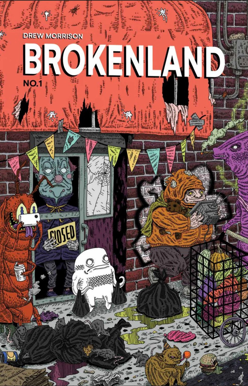 Brokenland #1, cover, self-published, Morrison