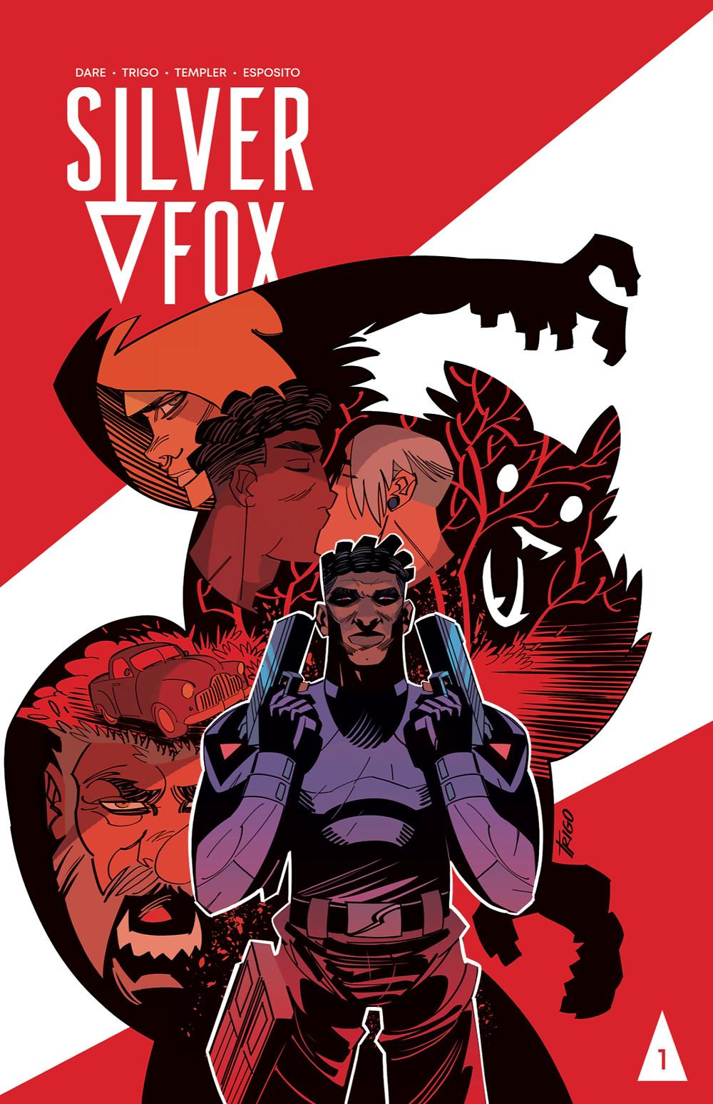 Silver Fox #1, cover, self-published, Dare/Trigo