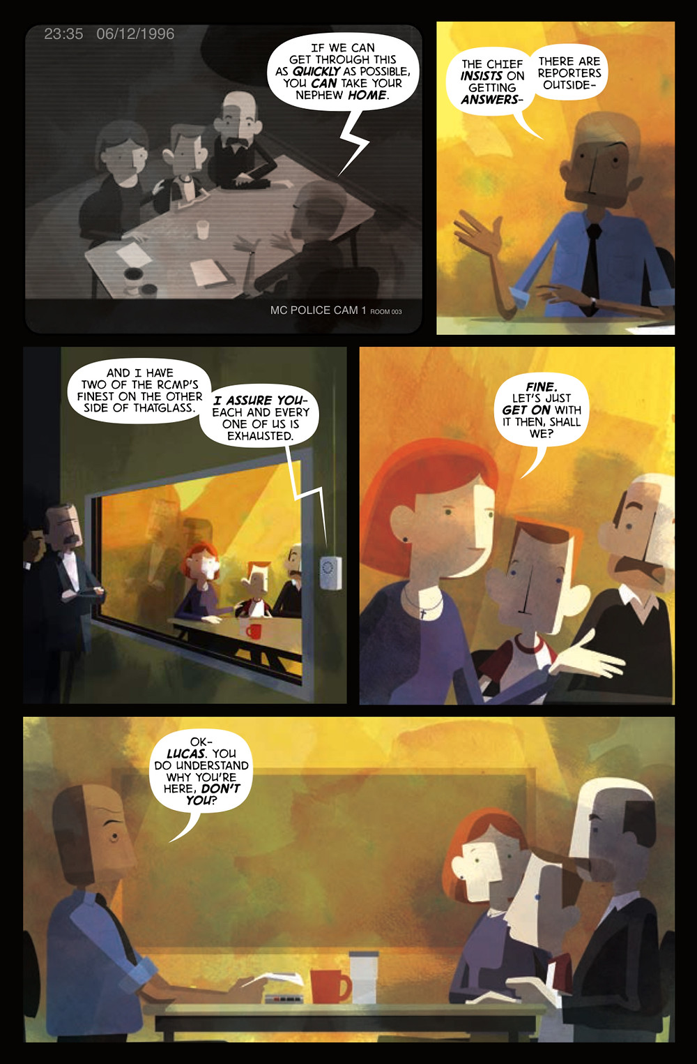 The Junction, page 2, self-published, Konyu