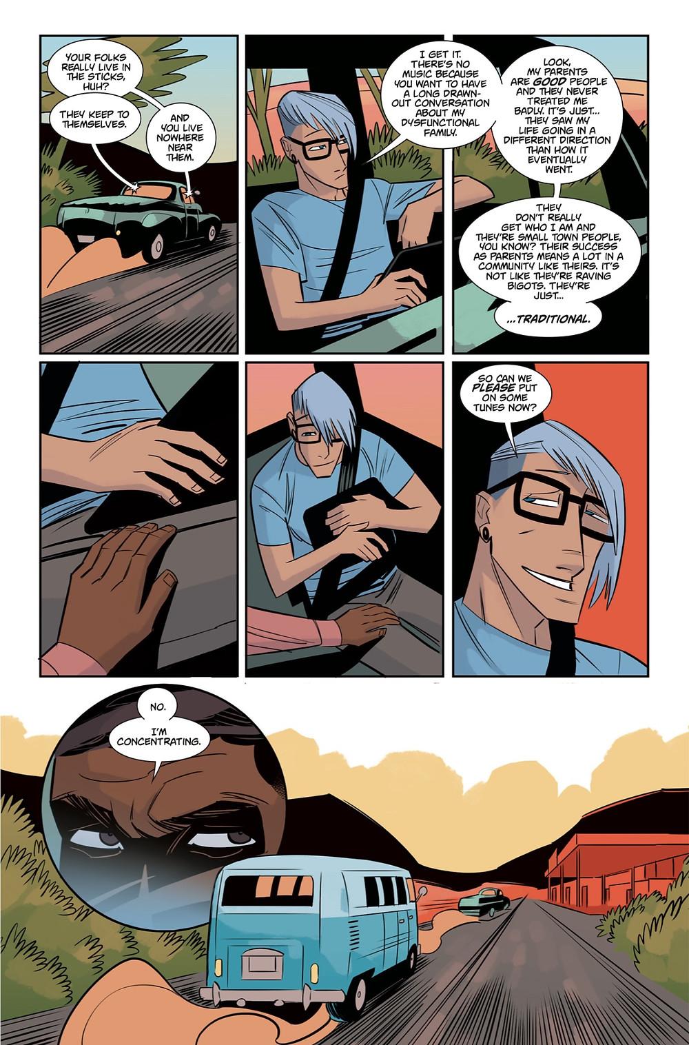 Silver Fox #1, page 10, self-published, Dare/Trigo