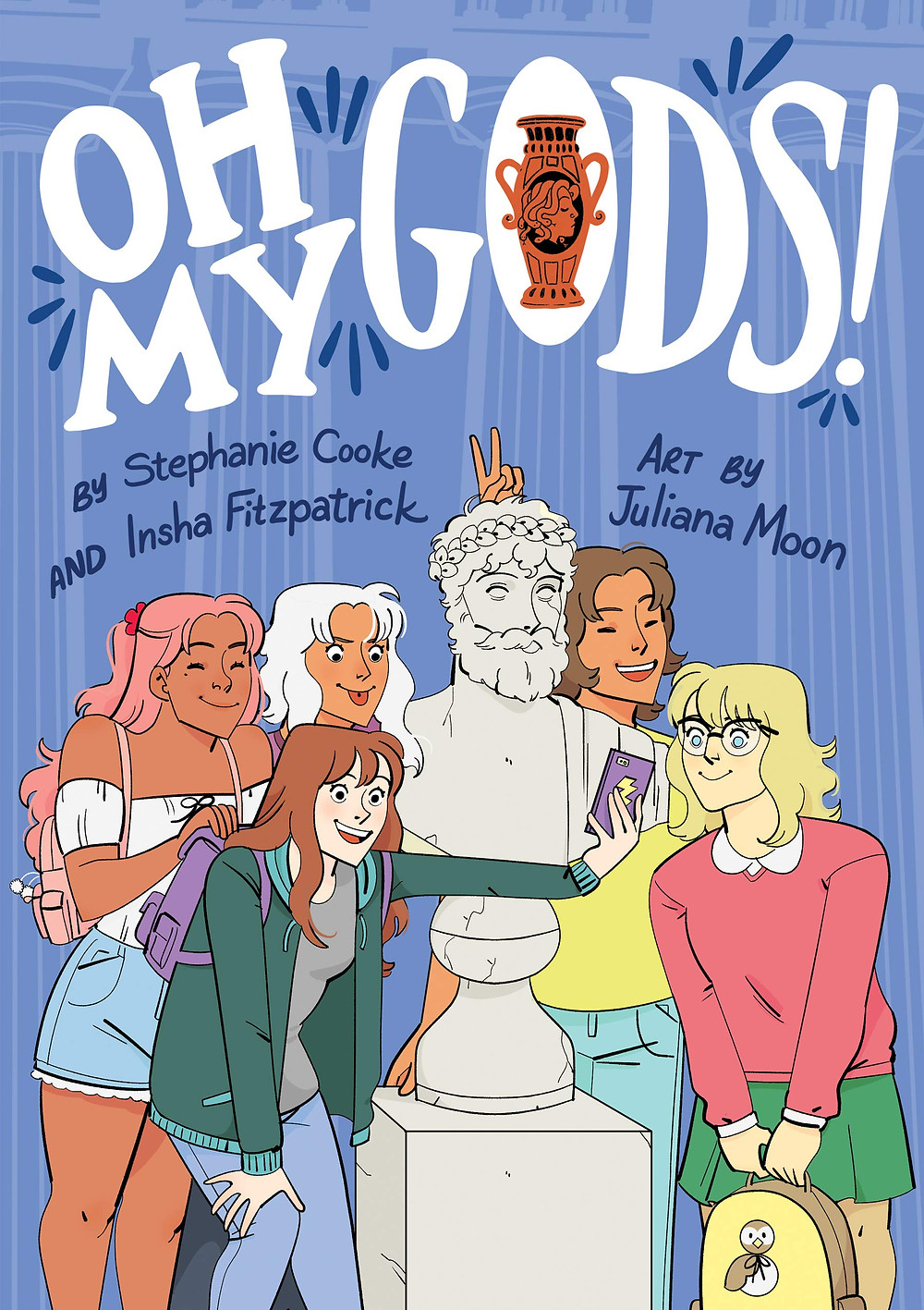 Oh My Gods!, HMH, cover, Moon/Miller