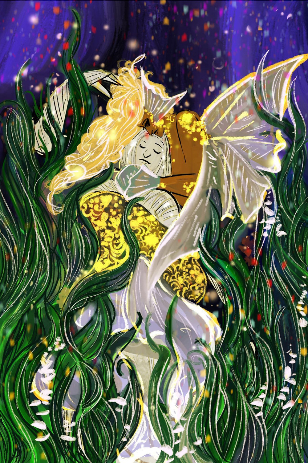 Strange Waters, cover, Arledge Comics, Michi