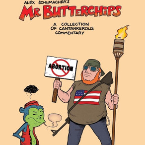 Cartooning and Curmudgeonry with Alex Schumacher of MR. BUTTERCHIPS