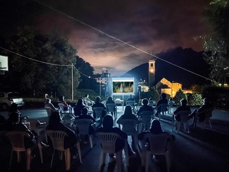 Cinema al chiaro di Luna a Villette