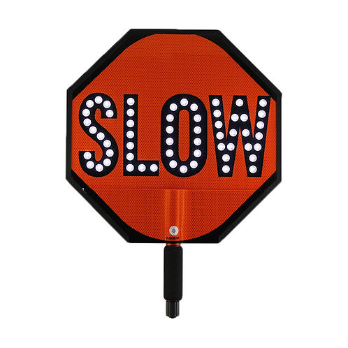 24-Inch Slow/Stop Sign Paddle
