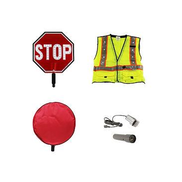 LED Crossing Guard Kits