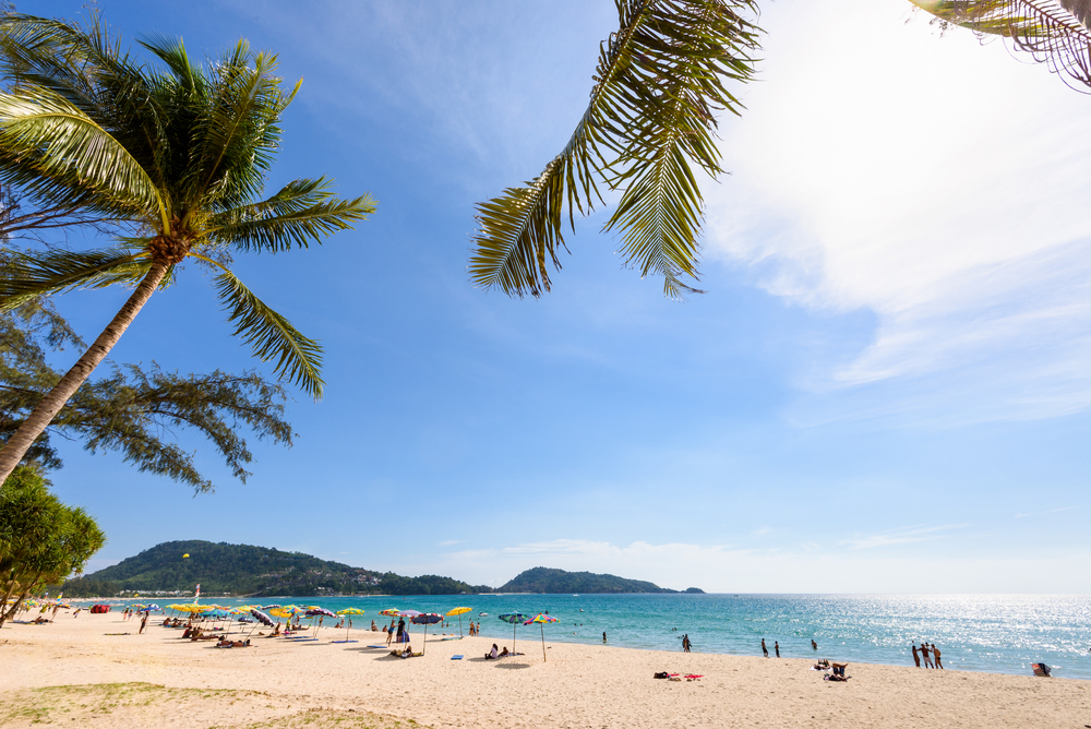 Patong Beach and Andaman Sea,Phuket isla