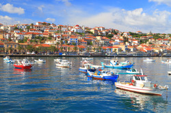 The harbor of Koroni, Peloponnese, Greec