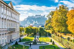 Mirabell Gardens, Austria, Europe.