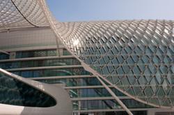Yas Marina Hotel in Abu Dhabi.