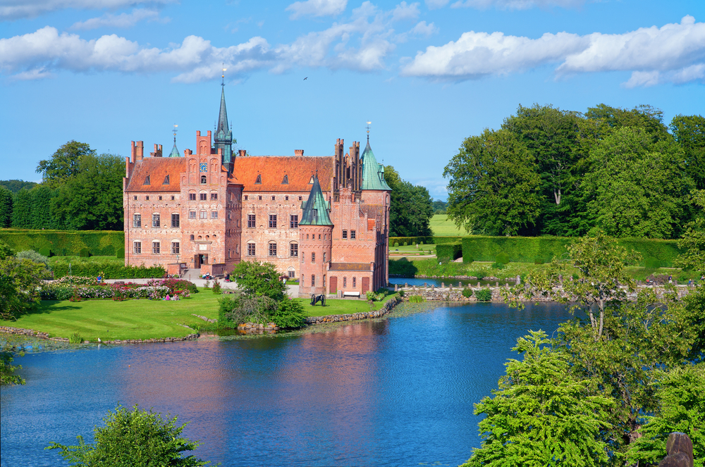 Egeskov castle; the most visited castle,