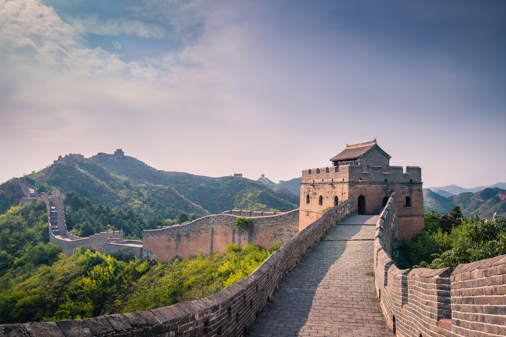 Jinshanling Great Wall of China, Hebei,