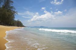 Mai Khao beach. Phuket island, Thailand.