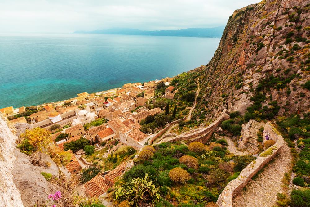 Monemvasia, Peloponnese, Greece.