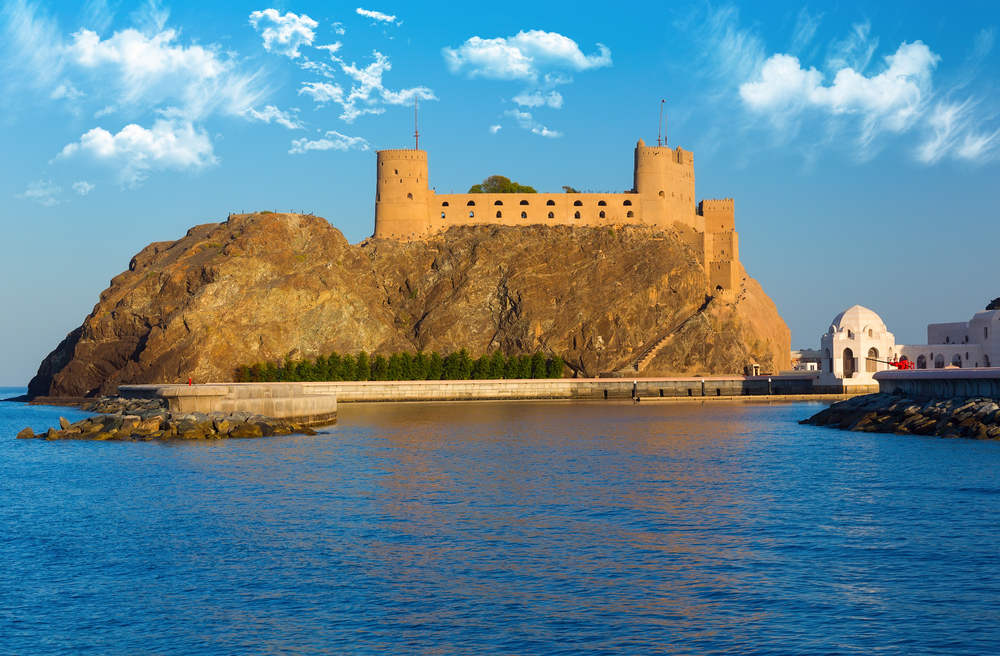 Fort Al-Jalali in Muscat, Oman.