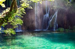 Famous Croatian Plitvice Lakes National