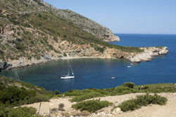 Patitiri-bay-on-Alonnisos-island,-Sporad