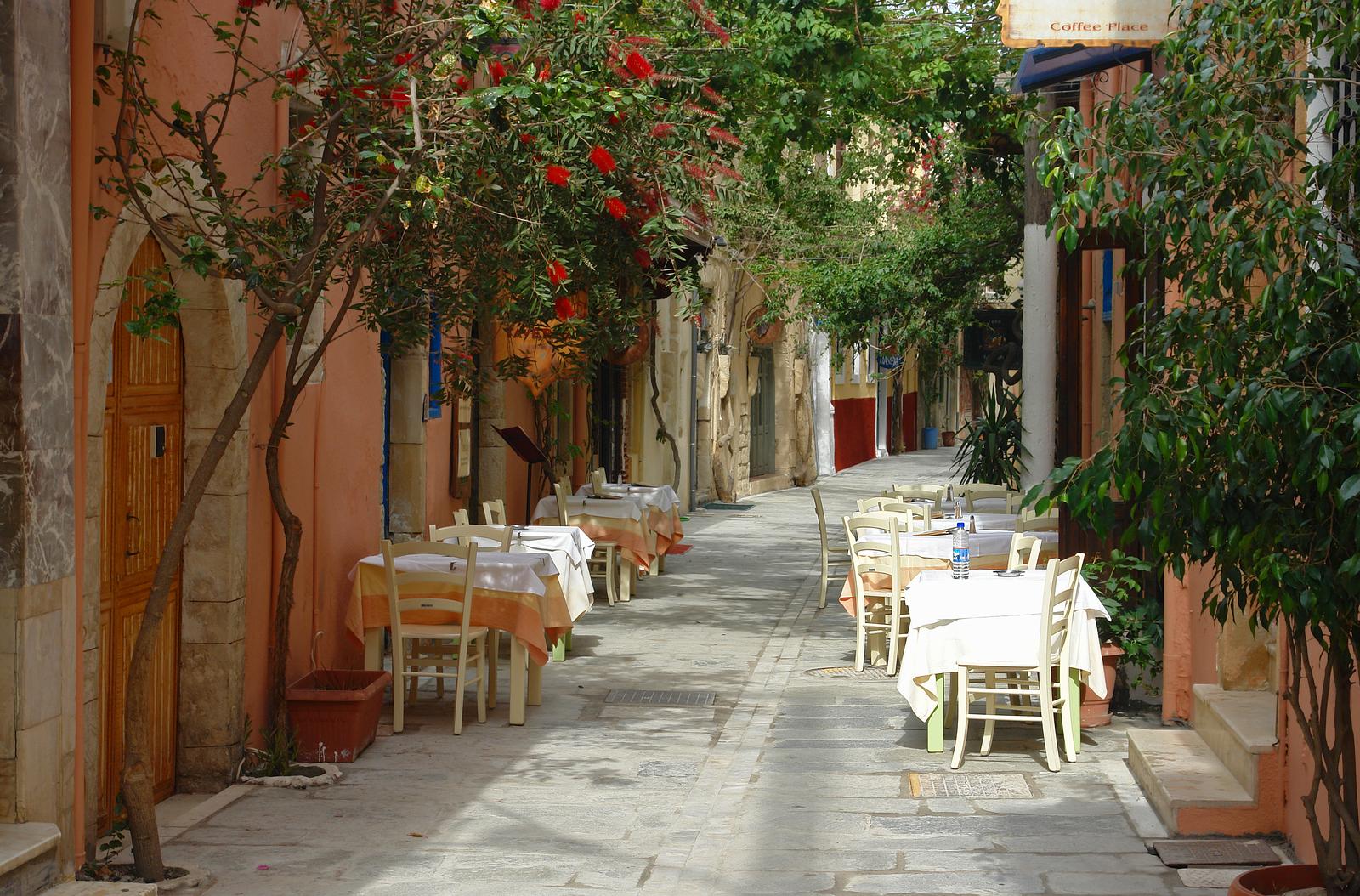 Rethymnon, Crete Island, Greece.