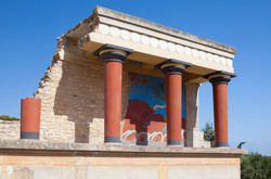 Knossos Palace,Crete,Greece.