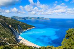 View-of-beautiful-Myrtos-bay-and-idyllic