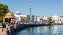 Muscat, capital of Oman.