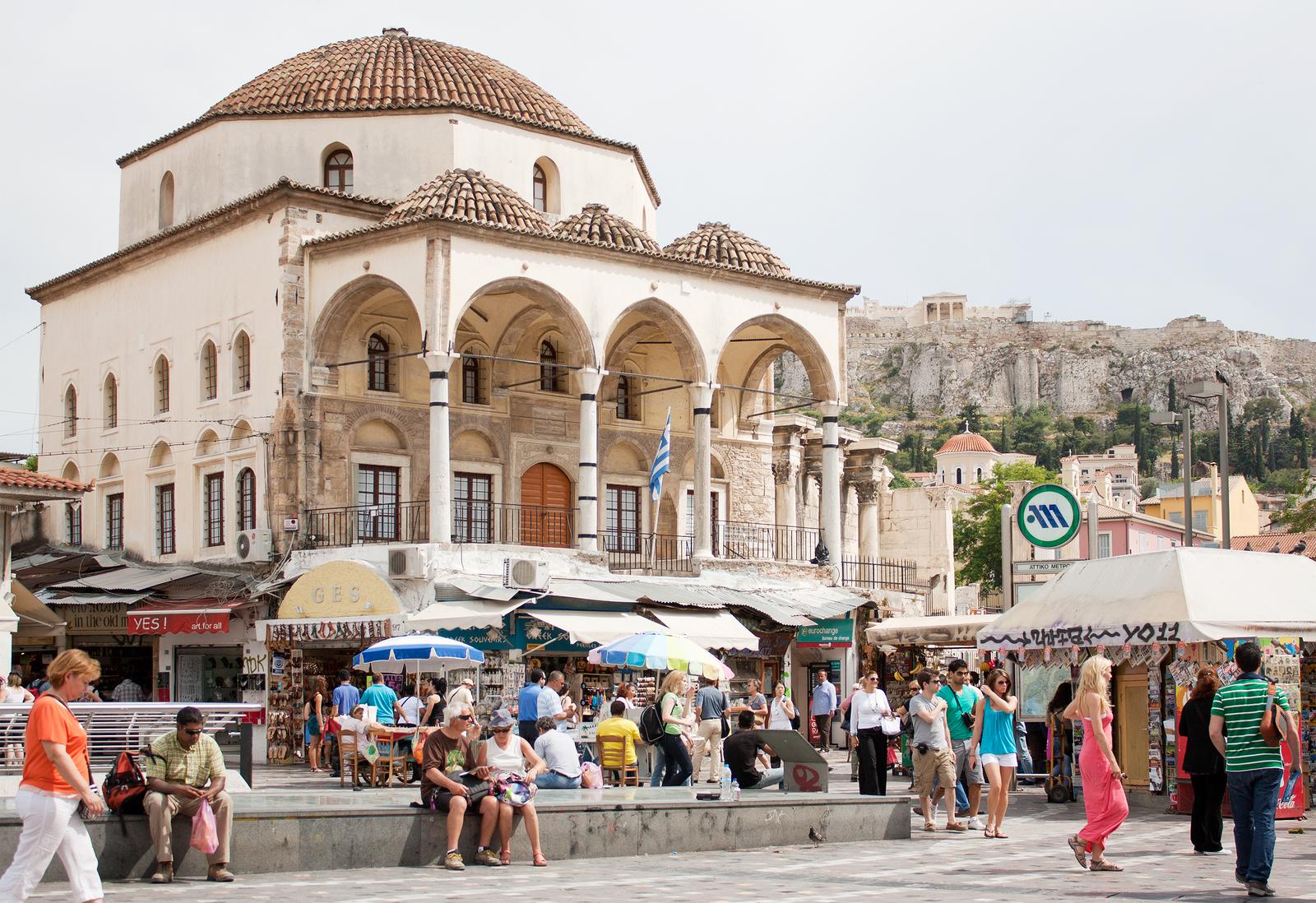 Monastiraki-Square-In-Athens
