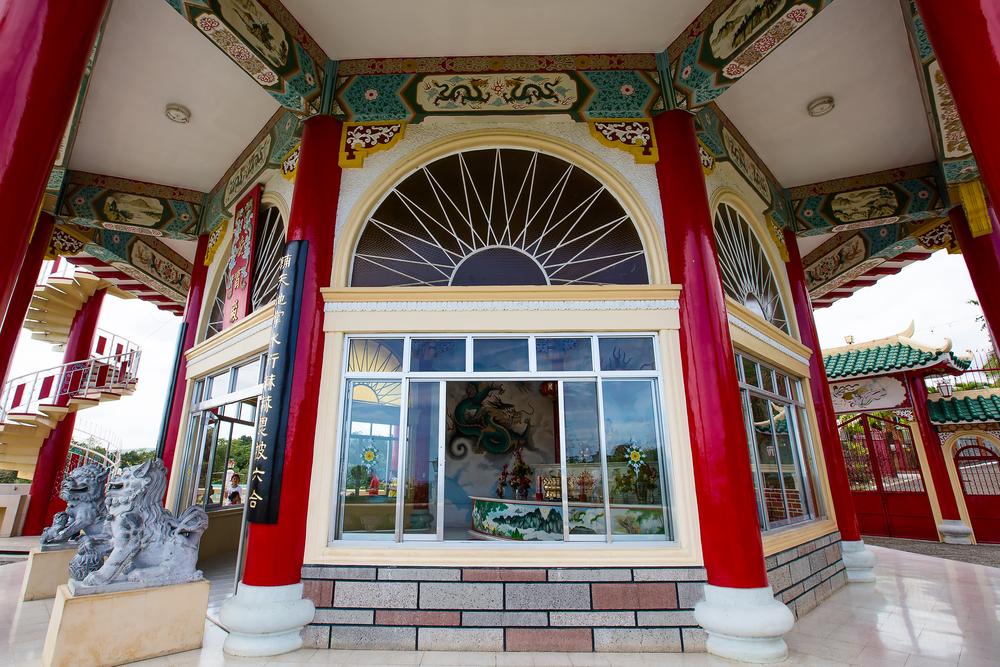 Taoist Temple in Cebu , Philippines.