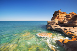 Red cliffs at Gantheaume Point, Broome,