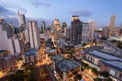 Makati, the business district of Metro M