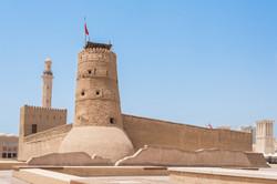 Al Fahidi Fort (1787), home to the Dubai