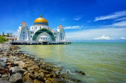 Malacca (Melaka)Straits Mosque ( Masjid