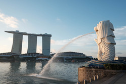 Merlion, Singapore.