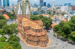 Saigon Notre-Dame Basilica in Ho Chi Min