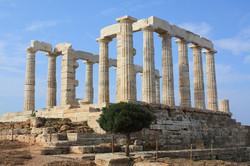 Temple-of-Poseidon, Sounio, Greece